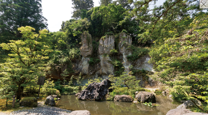 三尊石・琉美園