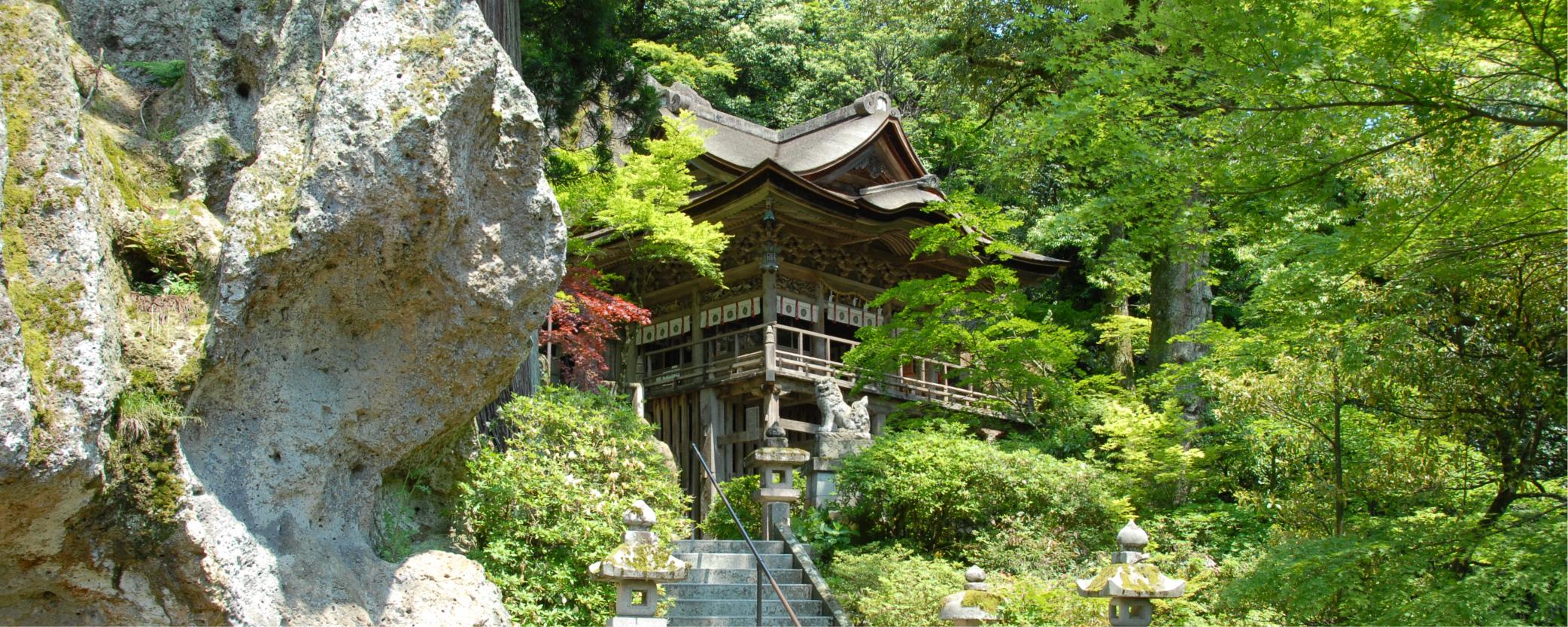 那谷寺の夏